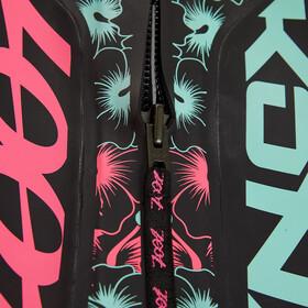 Zoot Kona Traje Triatlón Mujer, negro/rosa